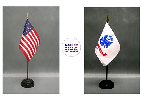 - Made in The USA. 1 American and 1 United States Army 4