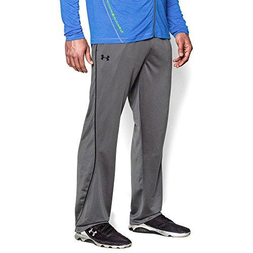 Under Armour Men's Relentless Warm-Up Pants – Straight Leg, Graphite/Black, - Warmer Leg Men For