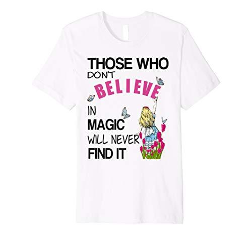 Alice in Wonderland-Men Women Kids T Shirt