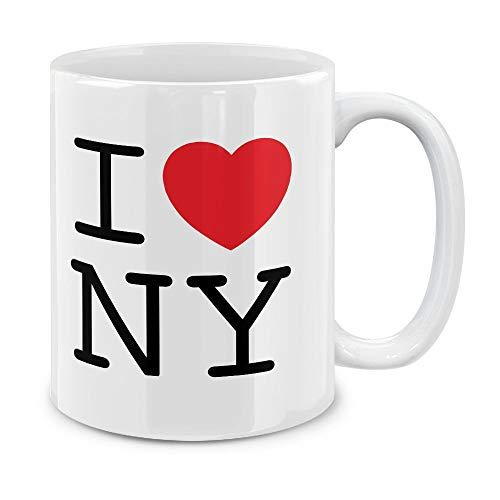 (MUGBREW I Love NY New York Ceramic Coffee Gift Mug Tea Cup, 11)