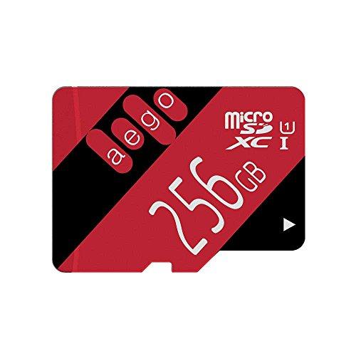 AEGO 256gb Micro SD Card SDXC Memory Card U1 Class 10 SD Car