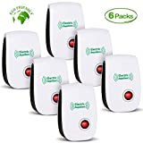 VEPOWER 2019 Newest Ultrasonic Electronic Pest Repellent, Pest Repeller Plug in Indoor Usage, Best Pest Controller to Bugs, Insects Mice, Ants, Mosquitoes, Spiders, Rodents and Roach(6 Packs)