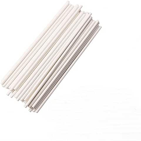 AKOAK 100 Count 6 Inch Lollipop Sticks,Sturdy Paper Sticks for Chocolate or Lollipops