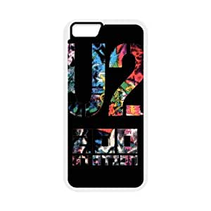 U2 iPhone 6 4.7 Inch Cell Phone Case White xlb-106168