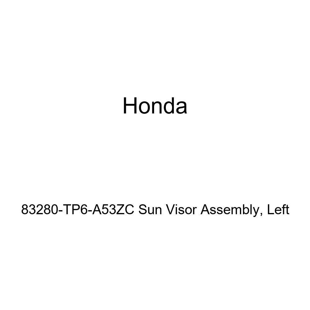 Honda Genuine 83280-TP6-A53ZC Sun Visor Assembly Left