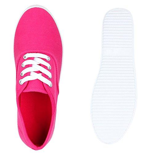 Donna Da Ginnastica Scarpe rosa Stiefelparadies Basse Rosa HnqIZCw8Ax