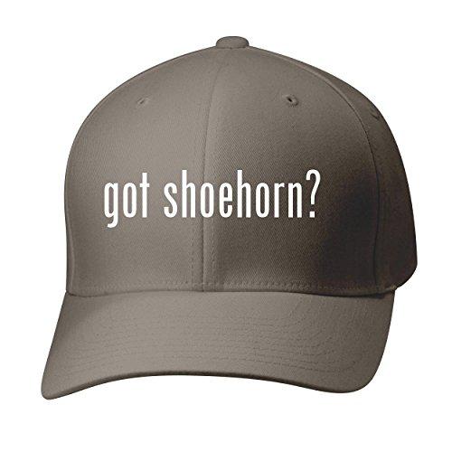 BH Cool Designs got Shoehorn? - Baseball Hat Cap Adult, Dark Grey, Small/Medium
