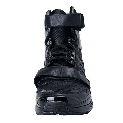 Adidas Di Juun. Scarpe Da Ginnastica Atletiche Unisex In Pelle Nera