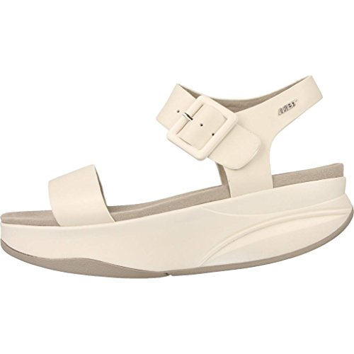alla Sandali Cloud Bianco MBT Cinturino Manni Donna Caviglia con zUxwwfSPnq