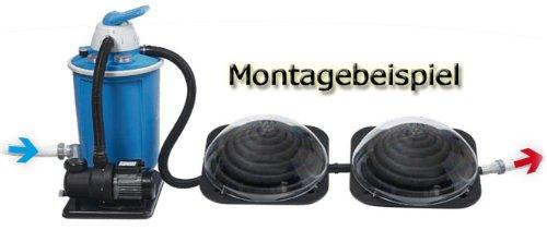 Miganeo Premium-Pool Schwimmbadheizung Solarheizung Kollektor Solarkugel f/ür Schwimmbad