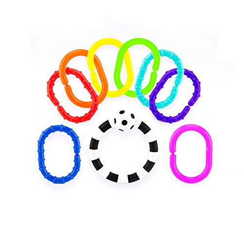 Sassy Ring O Links 9 Piece - Sassy Teether