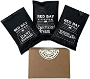 Whole Coffee Beans - Red Bay Motherland 3-Pack Gift Collection | Gourmet Medium Roast Whole Bean Coffee Best F