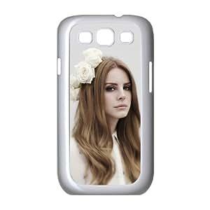 Customiz American Famous Singer Lana Del Rey Back Case for Samsung Galaxy S3 I9300 JNS3-1517