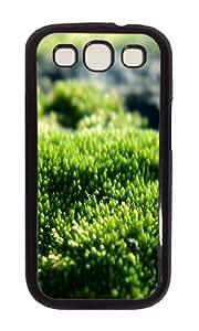 Samsung S3 Case,VUTTOO Stylish Green Moss Hard Case For Samsung Galaxy S3 I9300 - PC Black