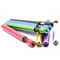 New Self Cleaning One Hitter Metal Bat Tobacco Smoking Cigarette Dugout Pipe