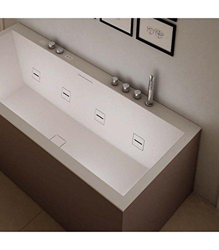 TEUCO vasca idromassaggio serie paper art.T51-my0 180x80 bianco ...