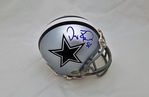 Dallas Cowboys Authentic mini helmet hand signed by Dez Bryant.