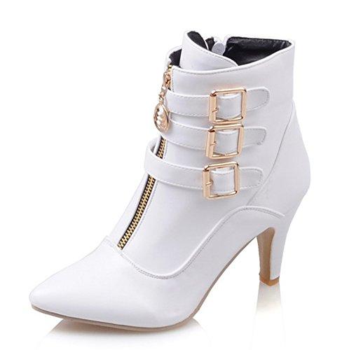 Aisun (White Sexy Boots)