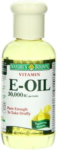 Natures Bounty 000IU Fluid Ounce product image