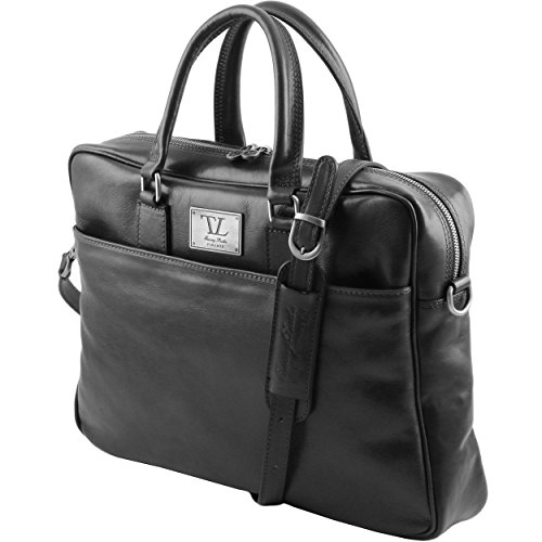 nero donna spalla TUSCANY Taille Borsa LEATHER a Unique nero Ixqq6FYw