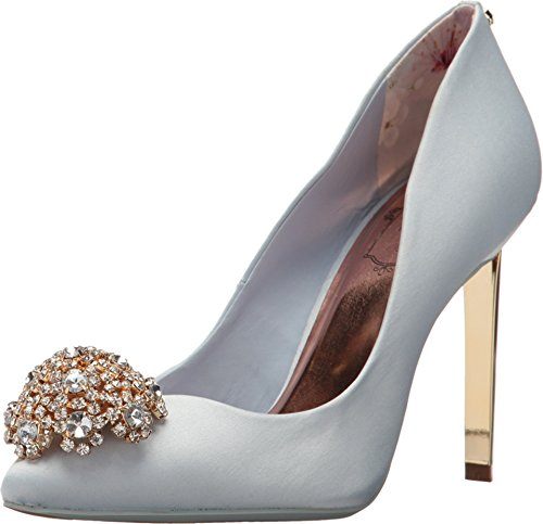 Ted Baker Women's Peetch Light Blue Textile Pump
