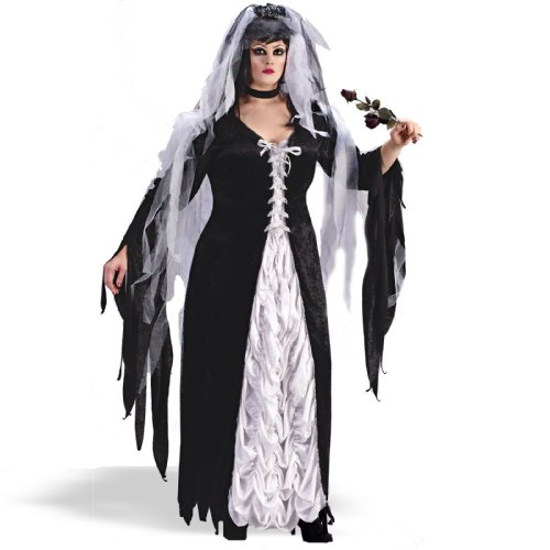 Bride Halloween Costumes (BRIDE OF DARKNESS PLUS SIZE)