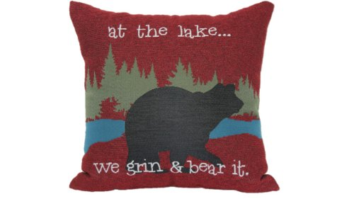 Brentwood Originals at The Lake Tapestry Pillow -  - living-room-soft-furnishings, living-room, decorative-pillows - 41XWocmliZL -