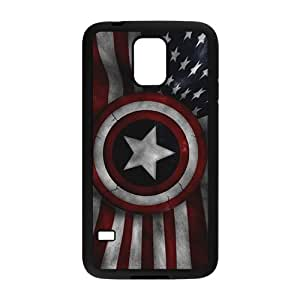 Captain America's Shield Brand New And High Quality Hard Case Cover Protector For Samsung Galaxy S5