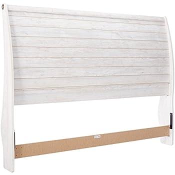 Amazon Com Ashley Furniture Signature Design Willowton King Sleigh Headboard Component