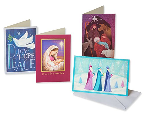 American Greetings 5772386 Religious Assorted Christmas Boxed Cards, - Card Messages Good Christmas