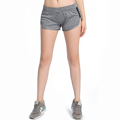 MAYUAN520 Frauen Fitness Sport Training Shorts 7/8-Leggings weiblichen Stretch mit kurzen Hosen Fitnessraum Sweatpants