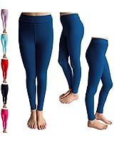 6caea8f362ff1 POPINJAY Premium Soft Girls Leggings - Best High Waist Ankle Length 4-Way  Stretch Legging