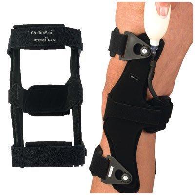 OrthoPro HyperEx Knee Brace - Right, Medium, Mid-Thigh Circ: 14'' - 20'' by Rolyn Prest