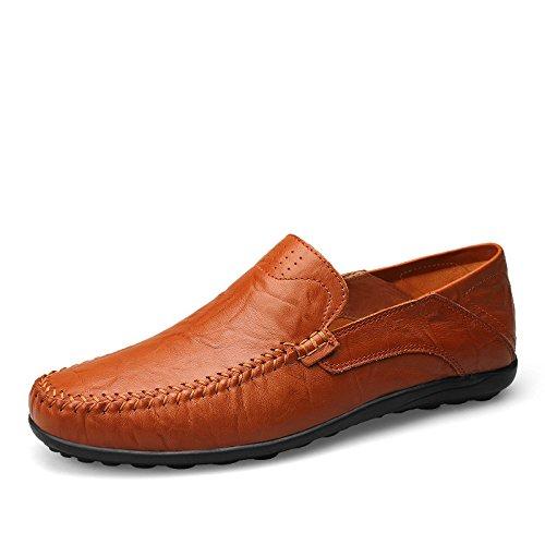 de ZFNYY con Red Cordones Piel Zapatos Planos Otra Hombre nRIqRvw