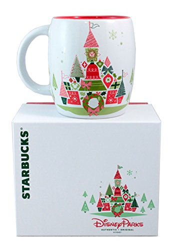 Disney Starbucks Holiday Christmas Mug Limited Edition