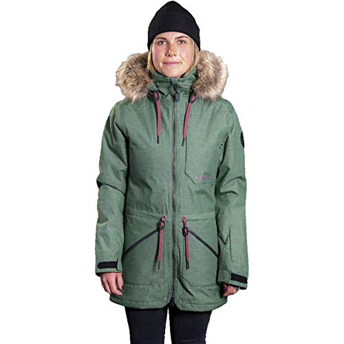 Armada Lynx Insulated Jacket - Women's (12238) Forest Green
