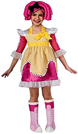 Rubies Costumes Lalaloopsy Deluxe Crumbs Sugar Cookie Child Costume Small (4-6)