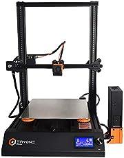 Eryone 3D Printer Thinker, Super silenzioso, Magnetico e flessibile Superficie di costruzione PEI, Letto doppio riscaldato con tubo Mosfet, 300 * 300 * 400 mm, doppia scala dell'asse Z