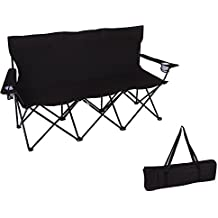 Triple Style Tri Camp Chair with Steel Frame by Trademark Innovations