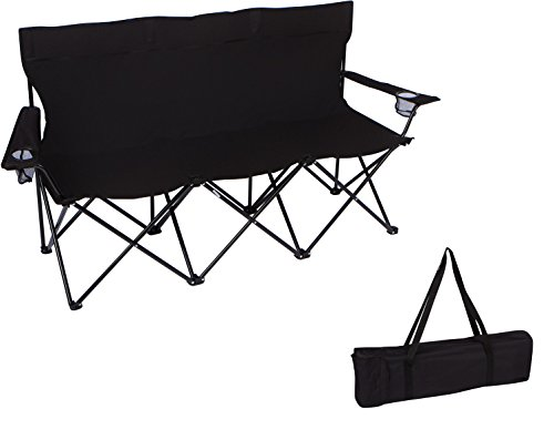 65-Triple-Style-Tri-Camp-Chair-with-Steel-Frame-and-Carry-Bag-by-Trademark-Innovations-Black