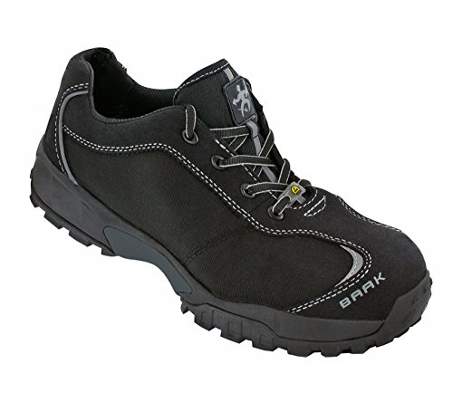 De seguridad zapatos de seguridad Ray sports Light S3, ESD zapatos BGR191 colour negro, 7249, Negro, 7249