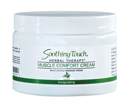 Soothing Touch W67345S Muscle Comfort Cream, - Soak Muscle Comfort