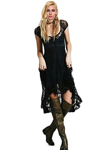 ca fashion black dress - 4