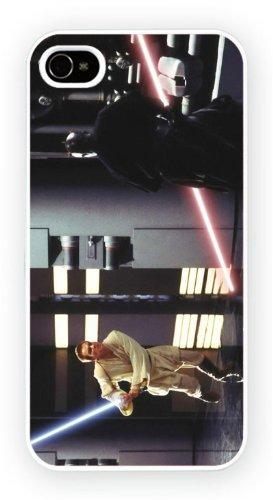 Star Wars: Episode I - The Phantom Menace - Kenobi Maul, iPhone 4 4S, Etui de téléphone mobile - encre brillant impression