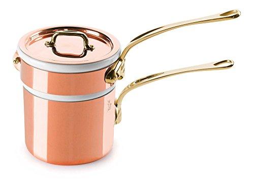 Mauviel Copper Saucier - M'Heritage 0.85-qt. Bain Marie