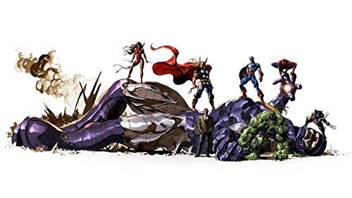 [Ben -Alexander24X36 Inch/ Art/ Marvel Comics Wolverine Thor Spider Man Hulk Captain Home Decoration Canvas] (Captain Murphy Costume)