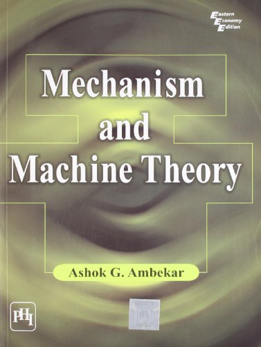 Mechanism and Machine Theory (Theory Of Machines And Mechanisms compare prices)