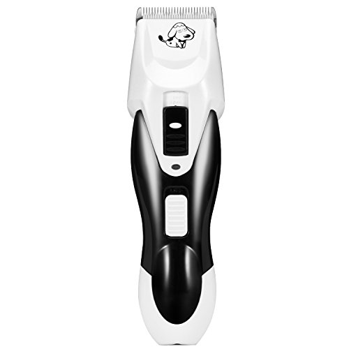 Dog Grooming Clipper Itery Pet Grooming Professional Dog Cat Clipper Kit Electric Shaver for Hair Cuts Rechargeable Cordless Clipper Dog Cat Hair Trimmer with Low Noise and Safety Blade
