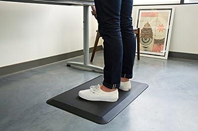 """Standing Mat - Made by Readydesk Adjustable Standing Desk - Anti-Fatigue Comfort Mat 30""""x20"""""""