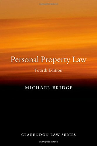 Personal Property Law (Clarendon Law Series)